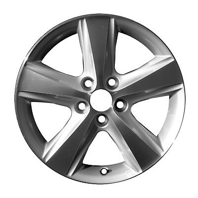 69566 Compatible Toyota Camry 2010-2011 17 inch Wheel Rim Machined and Silver