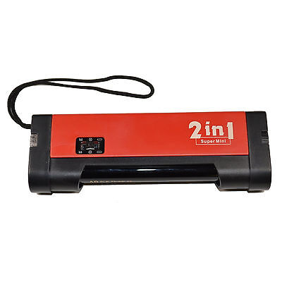 Mini Blacklight UV Counterfeit Money Detector 365nm with Torch Function 2 in 1