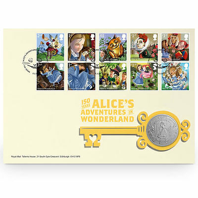 The Royal Mint Alice in Wonderland PMC - AIWPMC