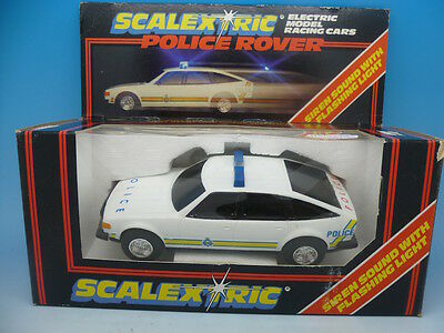 Scalextric C284 Police Rover, boxed mint