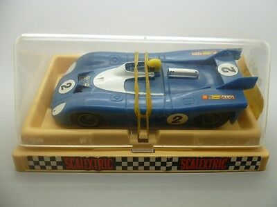 Scalextric 09-C102 Mantra 670 Blue, French version