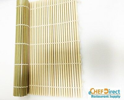 3 PCs  9.5 inch (24cm) Bamboo Sushi Roller Mat NEW