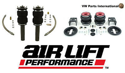 VW Golf MK5 R32 GTI TDI Air Lift Front & Rear Air Ride Suspension Kit Slam 6″...