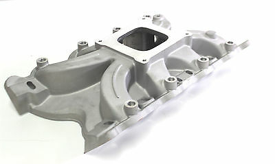 Ford Cleveland Torque Alloy Inlet Manifold Single Plain Suit 302-351 - Hot Rod