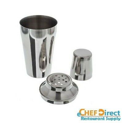 16 oz Stainless Steel Three Piece Bar Cocktail Mixer NEW !!!