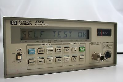 Hewlett Packard 437B Power Meter (FREE SHIPPING)