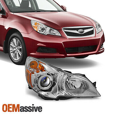 Fit 10-12 Subaru Legacy / Outback Headlight Passenger Right Replacement