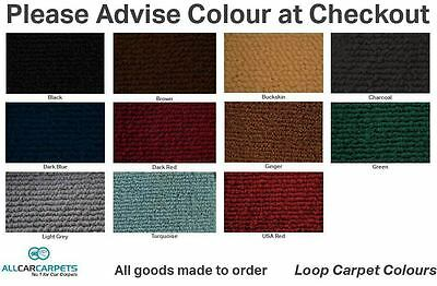 New Moulded Car Carpet Front & Rear to fit Ford Focus Sedan 2010-Present