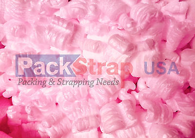 Packing Peanuts Shipping Anti Static  Fill Popcorn 60 Gallons 8 Cubic Feet Pink