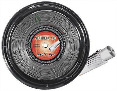 Pro's Pro Synthetic Gut Tennis Squash String - 200m Reel - 1.30mm