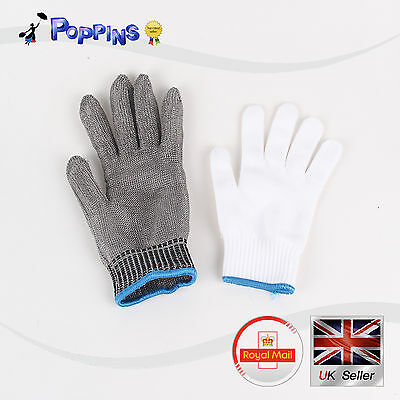 NEW Cut-Resistant Gloves Stainless Steel Wire Self-defense Gloves Safety