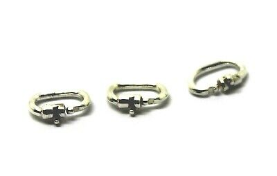 STERLING SILVER 925 LINK LOCK LOCKS **Free postage in Australia**