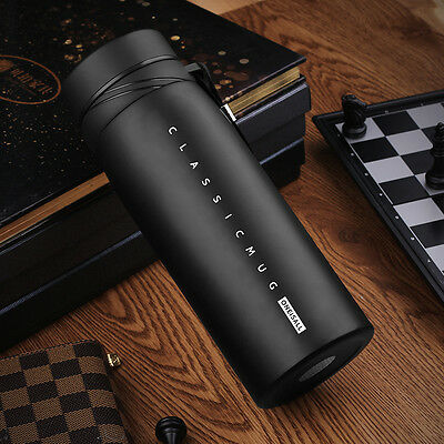 900ml Stainless Steel Vacuum Flask Water Bottle Thermos Coffee Travel Mug Cup