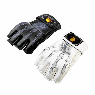 MMA UFC Sparring Grappling Fight Boxing Punch Ultimate Mitts Leather Gloves AU