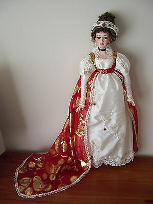 Hillview Lane Porcelain Doll named Empress Josephine