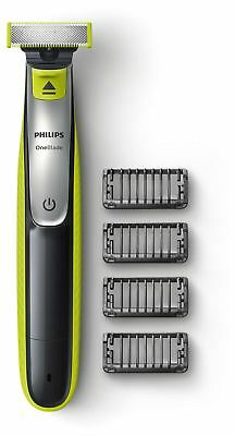 Philips OneBlade Electric Trimmer Styler Shaver 4x Combs Wet & Dry QP2530/25