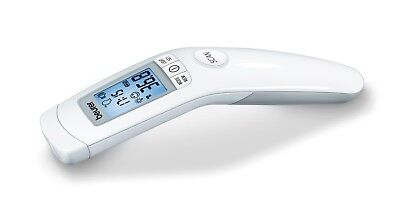 Beurer FT90 Non-contact clinical thermometer Forehead LCD Display Date Time NEW