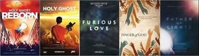 Wanderlust 5 DVD Set: Finger of God, Furious Love, Father of Lights, Holy Ghost,