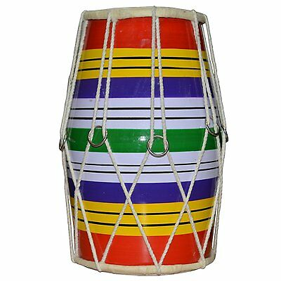 Dholaki Hand Percussion Drum Indian Musical Instrument Made by Dropmarket