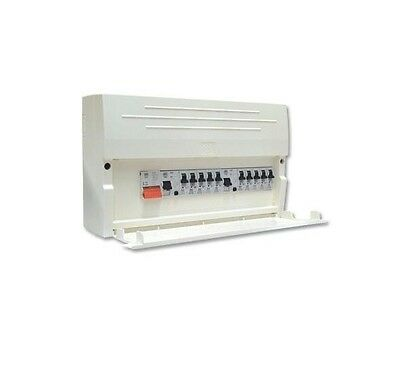 MK Sentry K7666SP 10 Way Insulated Split Load Consumer Unit