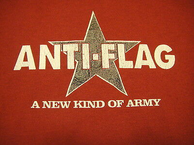 Anti-Flag Concert Music Shirt PUNK Rock Hard Core A New Kind of Army Penneywise