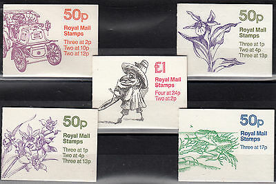 Gb 5 Complete Booklets Mnh