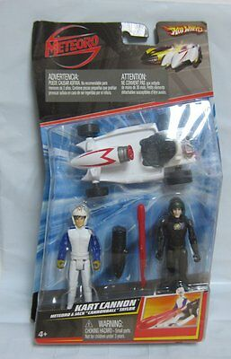 Speed Racer Toy Figures Vehicles Kart Cannon Speed Racer & Jack Cannonball Taylo