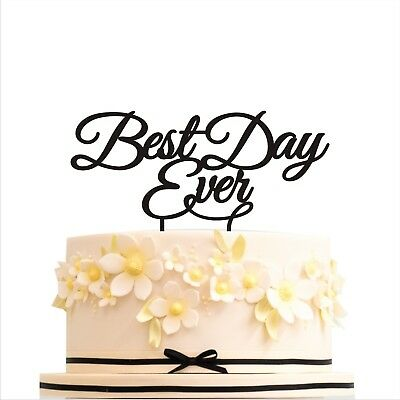 Cake Topper Best Day Ever Wedding Cake Toppers