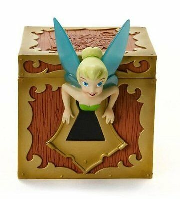 Disney Showcase Collection Tinkerbell Lidded Treasure Box, 5-1/4-Inch