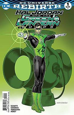 Hal Jordan And The Green Lantern Corps #1 Nowlan Variant Dc Comics First Print