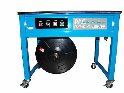 PAC STRAPPING PRODUCTS PSM1412-IC3A Strapping Machine,Table Top,Semiautomatc