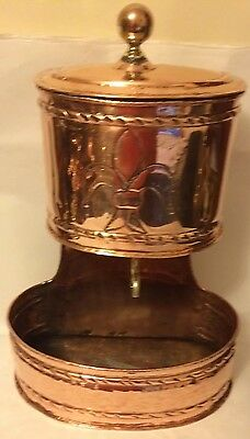 18th Century Antique French Copper Lavabo Wall Hanging Fountain