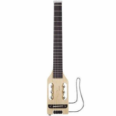 Traveler Ultra-Light Nylon Acoustic-Electric Travel Guitar, Natural + Ships Free