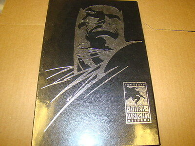 Dark Knight Ten Year HARDCOVER HC Silver SIGNED & NUMBERED Sealed