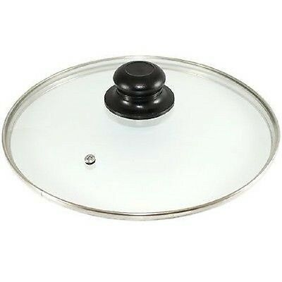 Glass Lids Saucepan Wok Casserole Frying Pan Lid 16 18 20 22 24 26 28 30 32 34cm