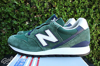 low priced 62b34 d67be New Balance 996 Sz 7 Heritage Made In Usa Dark Green Navy White M996Csl