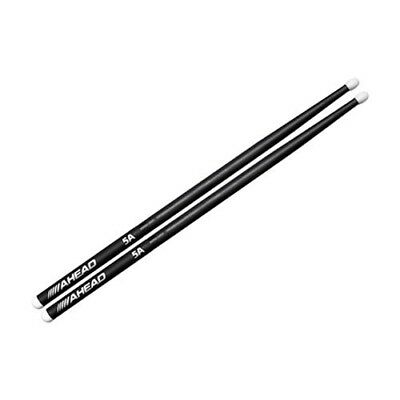 Ahead 5A Aluminum Advanced Alloy Core Nylon Tip Drumsticks Pair Drum Sticks
