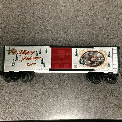 Lionel 25066 2009 O Gauge Christmas Box Car New in Box!