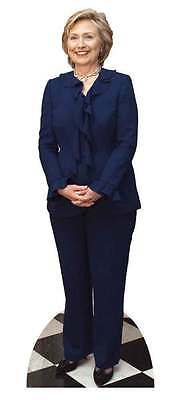 Hillary Clinton USA Politician LIFESIZE CARDBOARD CUTOUT / STAND UP / STANDEE