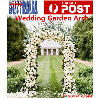 Garden Arch Wedding Arch Garden Climbing Frame Arches Wrought Iron 230cm