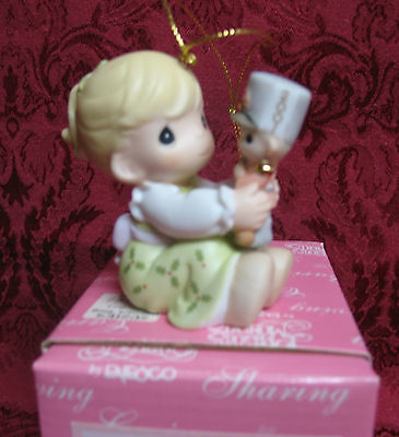 Precious Moments 2001 Dated Ornament~May Your Christmas Begin With A Bang