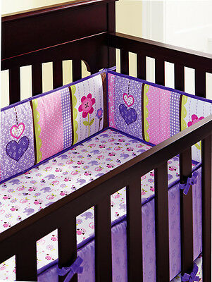 NEW Baby Cot Bedding Sets 8 PCs - Quilt Bumper Fitted Sheet Blanket 124-8