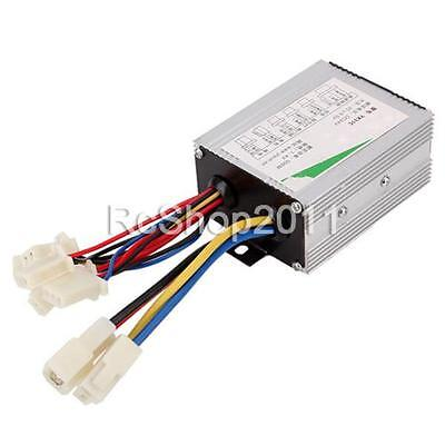 24V 500W Electric Bicycle E-bike Scooter Brush DC Motor Speed Controller