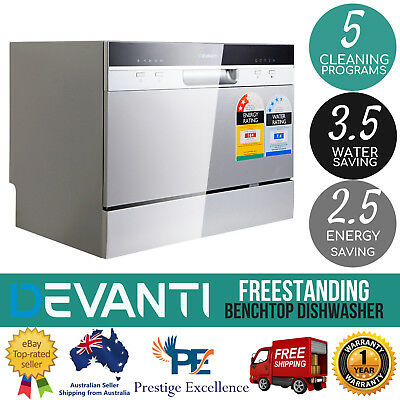 Electric Benchtop DISHWASHER Machine Efficient Countertop Bench New Freestanding
