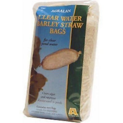 4 x Agralan Clear Water Barley Straw Bags For Ponds - Clears Algae