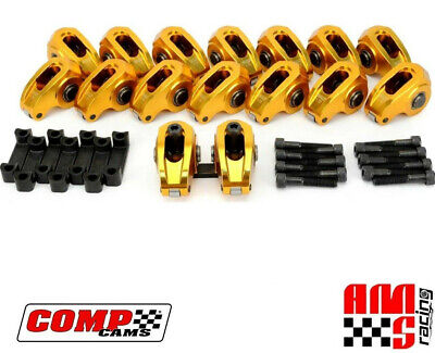 Comp Cams 19028-16 Ultra-Gold Aluminum Roller Rocker Arms 1.72 Gm Ls Ls3 L92