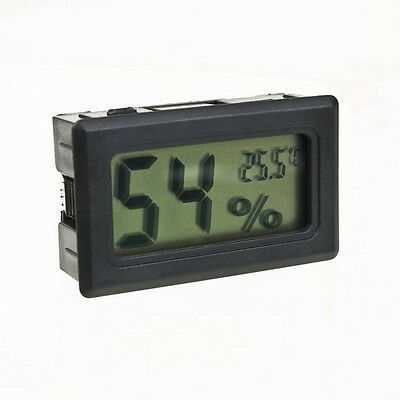 Cute Digital LCD Thermometer Hygrometer Humidity Temperature Meter Indoor FG