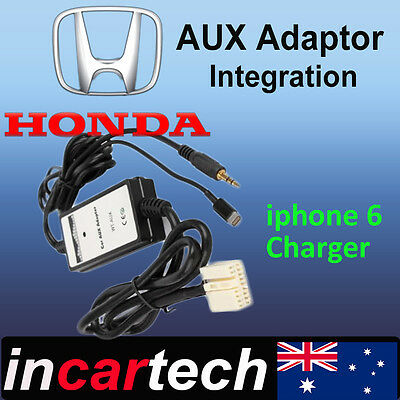 Honda Accord Euro/Accord 02-11 iPhone6 6s / iPod AUX Integration Interface