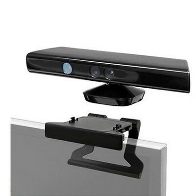 TV Clip Mount Mounting Stand Holder for Microsoft Xbox 360 Kinect Sensor FG