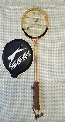 The Whipped Slazenger Squash  Racket Nicholas & Brown  (vintage)